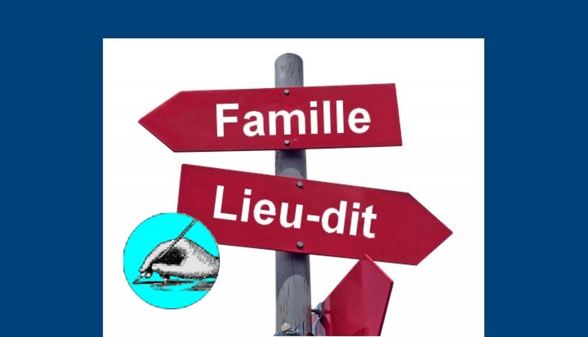 Patronymes et toponymes : étymologie