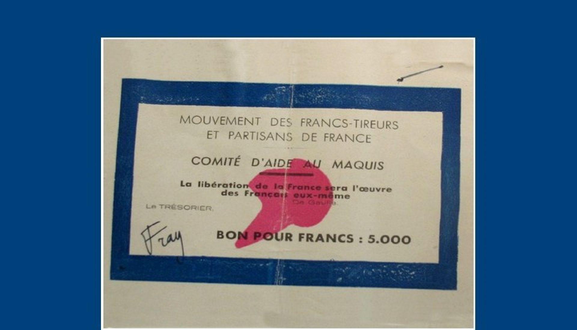 Les FTP (Francs-Tireurs et Partisans) en Rhône-Alpes