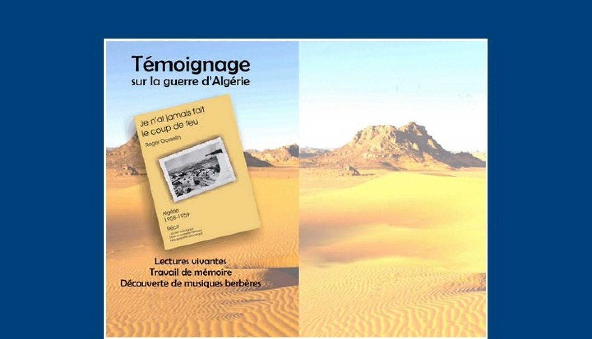 Témoignage sur la guerre d'Algérie